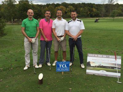 TCL sponsored golf hole